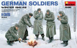 35218 MiniArt Германские солдаты, зима 1941-1942