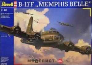 04297 Revell B-17F Memphis Belle