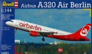 04861 Revell 1/144 Самолет Airbus A320 AirBerlin