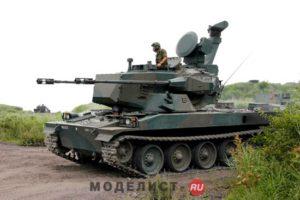 01599 Trumpeter JGSDF Type 87 AW