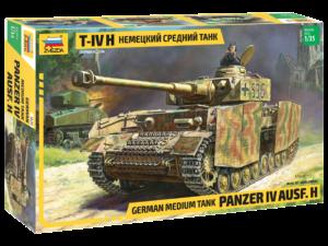 3620 Звезда Германский средний танк T-IV (H)