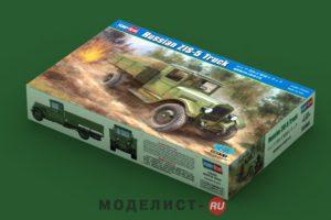 83885 HobbyBoss  Советский грузовик  Russian ZIS-5 Truck  1:35