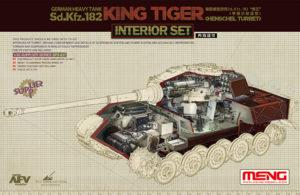 SPS-037 Meng Набор интерьера для German Heavy Tank Sd.Kfz.182 King Tiger (Henschel Turret) Interior Set
