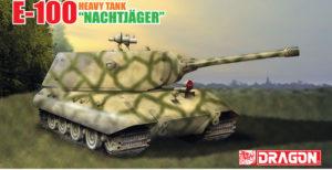 """6011X Dragon Танк E-100 Heavy Tank """"Nachtjager"""" 1:35"""