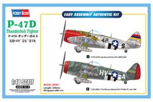 85804 Hobby Boss P-47D Thunderbolt   1:48