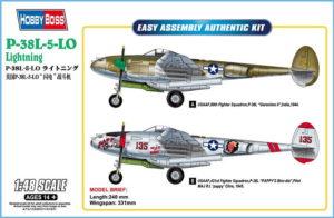 85805 Hobby Boss P-38L-5-L0 Lightning 1:48