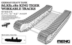 Наборные траки SPS-038 Meng 1/35 German Heavy Tank Sd.Kfz.182 King Tiger Workable Tracks
