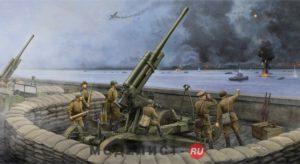 02342 Trumpeter Советское 85 мм орудие ПВО 52-К поздняя версия