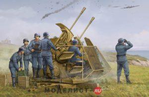 02347 Trumpeter German 37mm Flak 43 Zwilling