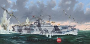 05627 Trumpeter German Navy Aircraft Carrier DKM Graf Zeppelin   1:350