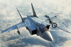 81754 HobbyBoss Советский самолёт МИГ-31Б/БМ Russian MiG-31B/BM Foxhound