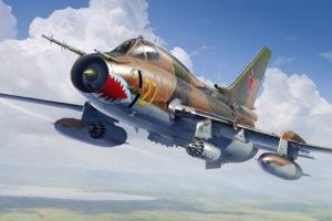 81758 HobbyBoss Советский самолёт СУ-17М4  Su-17M4 Fitter-K
