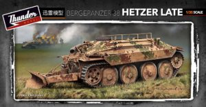 Thunder model TM35101 German Bergepanzer 38t Hetzer Late 1:35