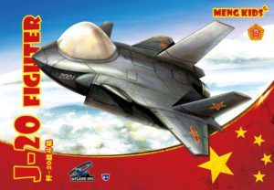 Meng Model mPLANE-005 J-20 Fighter