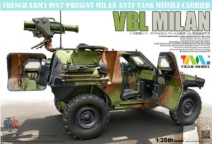 4618 Tiger Model 1/35 French VBL with Milan Anti-Tank Missile Launcher
