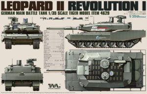LEOPARD II REVOLUTION I MBT, TIGER MODEL, 1/35