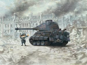 WWT-003 Meng Model Танк KING TIGER