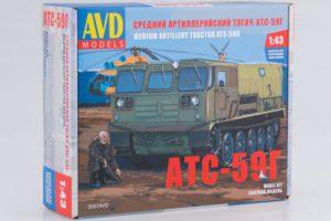 Средний артиллерийский тягач АТС-59Г