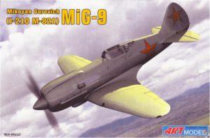 7207 ART-model 1/72 МиГ-9 (И-210)