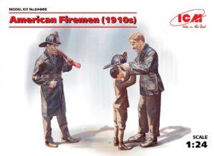 24005 ICM 1/24 Американские пожарные (1910-е г.г.)