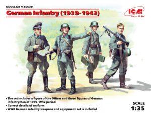 35639 ICM 1/35 Германская пехота (1939-1942 г.)