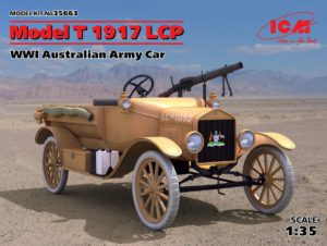 35663 ICM 1/35 Модель Т 1917 LCP, Автомобиль армии Австралии