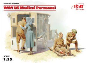 35694 ICM 1/35 Медицинский персонал США І МВ