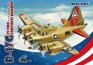 mPLANE-001 Meng B-17G FLYING FORTRESS BOMBER
