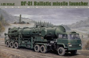 202 Trumpeter 1/35 DF-21 Транспортер с баллистической ракетой