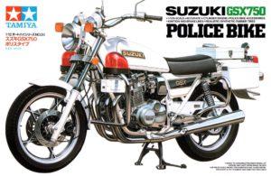 14020 Tamiya 1/12 Мотоцикл Suzuki GSX750 Police Bike