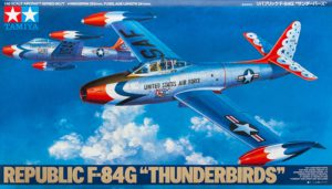 61077 Tamiya 1/48 Republic F-84G Thunderbirds