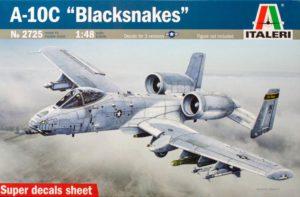 2725 Italeri 1/48 Штурмовик A - 10C ''Blacksnackes''