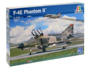 2770 Italeri 1/48 Истребитель F-4E PHANTOM II