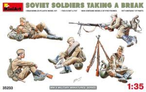 35233 MiniArt 1/35 Советские солдаты на отдыхе