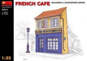 35513 MiniArt 1/35 Французское кафе