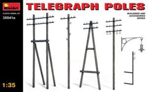 35541A MiniArt 1/35 Телеграфные столбы (обновленный набор)