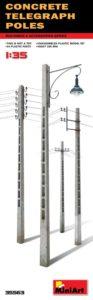 35563 MiniArt 1/35 Бетонные телеграфные столбы