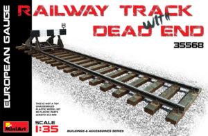 35568 MiniArt 1/35 Железнодорожный тупик