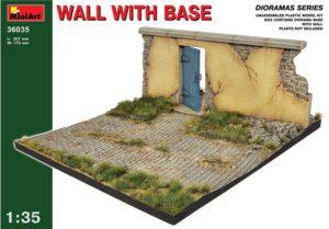 36035 MiniArt 1/35 Стена с основанием