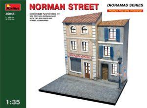 36045 MiniArt 1/35 Нормандская улица
