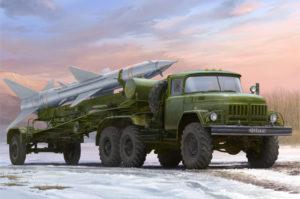 01033 Trumpeter 1/35 Ракетная установка советский подвижный зенитный комплекс С-75 «Двина»