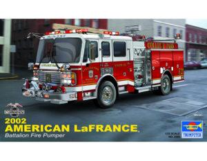 02506 Trumpeter 1/24 Американская пожарная машина