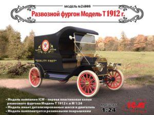 24008 ICM 1/24 Развозной фургон Модель Т 1912 г.