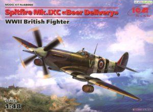 """48060 ICM 1/48 Самолет Спитфайр Mk.IXC """"Доставка пива"""", Британский истребитель ІІ МВ"""