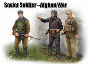 00433 Trumpeter 1/35 Советские солдаты в Афганистане