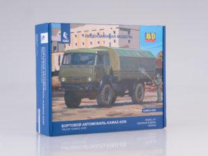 1304AVD AVD Models 1/43 КАМАЗ-4350 4x4 Мустанг