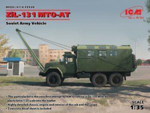 35520 ICM 1/35 Советский армейский автомобиль ЗиЛ-131 MTO-AT