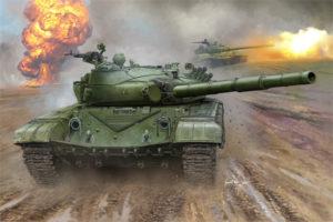 00924 Trumpeter 1/16 Russian T-72B MBT