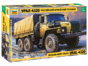 3654 Звезда 1/35 Армейский грузовик «Урал» 4320