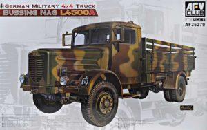AF35270 AFVClub 1/35 German Military 4x4 Truck Bussing NAG L4500A